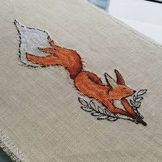 "Finished work by pattern ""Graceful"" #sa_stitch #sa_pattern #pattern #crossstitch"
