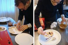 "Massimo Bottura (che qui prepara le #tigelle"") sarà a #veDrò12 Chefs, Oreo, Drink, My Favorite Things, Breakfast, Recipes, Food, Mustard, Entrees"