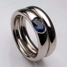 contemporary sapphire ring - Google Search