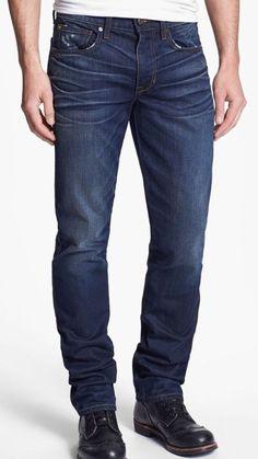 Joe's Jeans The Brixton Distressed Luke Wash Men's Slim Fit Size 32 X 35 NWT #JoesJeans #SlimSkinny