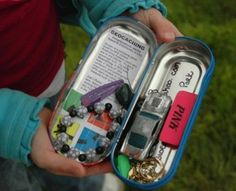 Best pass time when camping or just whenever you want a great family fun adventure! Levi just LOVEs Geocaching!