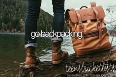 Go backpacking