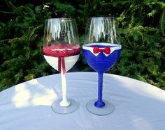 Wedding glasses handmade by romi elischer