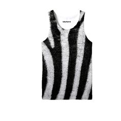Zebra Tank Top from our shop  http://saltykarrot.bigcartel.com/