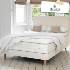 Hypnos bed!! So comfy the royal family have these, and so do I!