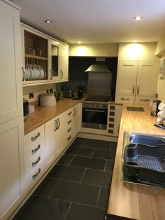 Well-equipped kitchen at The Old Vicarage, Godolphin Cross, Cornwall 2 Bed House, Luxury Holidays, Cornwall, Old Things, Kitchen Cabinets, Home Decor, Decoration Home, Room Decor, Kitchen Base Cabinets