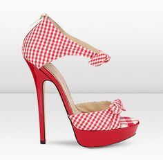 red bottom heels you can take em\u0026#39; off.... wait leave them on cause ...