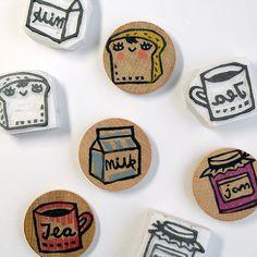Breakfast stamps | Flickr - Fotosharing!