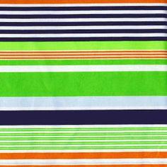 Bold Stripe Navy   Hen House Linens