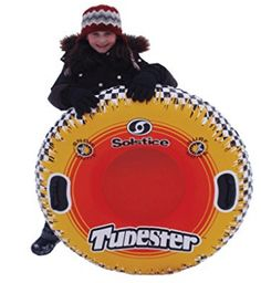 Swimline Solstice by Tubester All Season Sports Tube Best Price. Ideal for Snow or Surf Cool AllSeason graphics Sturdy Vinyl Handles Heavy Duty vinyl construction Great for all ages Summer Winter, Swimming Pools, Surfing, Tube, Snow, Seasons, Sports, Red, Graphics