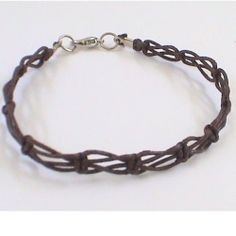 Macrame is a 13th-Century Arabic technique and used by the sailors in their free time, regained popularity in the 70's. This bracelet and necklace...