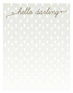 Confetti Stationery in Gray by Penelope Poppy. #stationery #hellodarling #confetti #notes #penelopepoppy