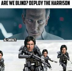 ARE WE BLIND? DEPLOY THE HARRISON!