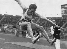 arne åhman bilder | Minnen från London-OS – för 64 år sedan | DAST Magazine. OS guld tresteg 1948 London.