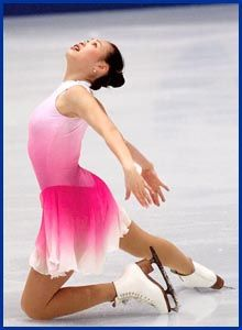 """The """"Butterfly on Ice"""" - 1994 and 1998 Ladies Olympic Figure Skating Bronze Medalist, Chen Lu"""