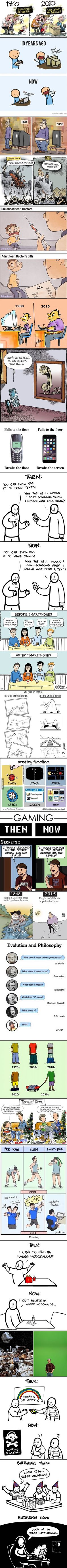 Then vs now - 9GAG