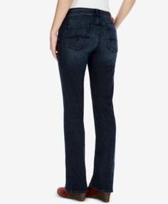 82fb52b5 Lee Women's Modern Series Total Freedom Bootcut Jeans (Size 12 Slim ...