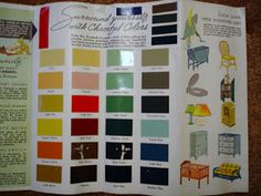 The Box House: 1930s Interior Paint Colors
