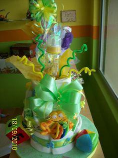 Un Delicioso Y Provocativo Pastel Echo Con Pañales!!! :D Regalo Perfecto  Para · Baby ShowersTutusPetit ...
