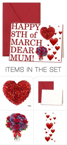 """Happy 8th of March!"" by aneto-j ❤ liked on Polyvore featuring art"