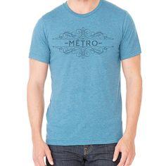 """""""French Metro"""" Short Sleeve Crew Neck"""