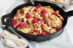 Breakfast in bed, anyone? This Raspberry Almond French Toast Casserole is worth getting out of bed for--even if you decide to eat it in bed!