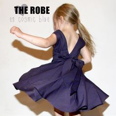 THE tobe en cosmic blue // Donna dress de Petite kids / Cosmic d'Atelier Brunette // Jolies bobines