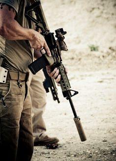 Suppressed AR15