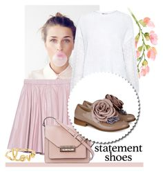 Lovely girl by blueyed on Polyvore featuring polyvore fashion style RED Valentino 2NDDAY Pokemaoke French Connection Sydney Evan clothing