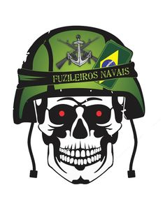 "Corpo de Fuzileiros Navais ""adsumus"" Army Patches, Punisher Skull, Naval, Men In Uniform, Ancient Symbols, Honda Cb, Military Art, Special Forces, Call Of Duty"