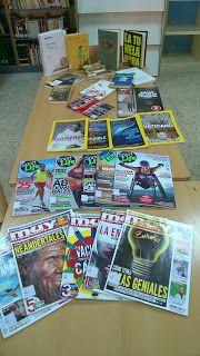 Novedades de octubre en la biblioteca escolar del IES Matilde Casanova  http://bibliotecamatildecasanova.blogspot.com.es/