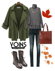 """""""Autumn melody"""" by memilia-4 ❤ liked on Polyvore featuring yoinscollection"""