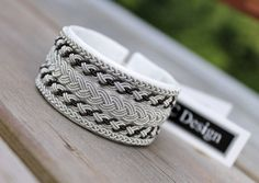 Sami bracelet viking bracelet wide bracelet by AC Design Made in Sweden