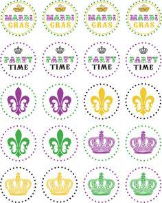 Free Mardi Gras Printables