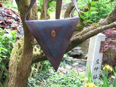 Ledertaschen - Ledertasche Tripticon - ein Designerstück von Adriani-Lada bei DaWanda