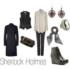 """""""Sherlock Holmes"""" by ja-vy on Polyvore"""