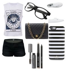 """""""Untitled #96"""" by minniieminii on Polyvore featuring Vans, Chanel, Kate Spade and Bobbi Brown Cosmetics"""