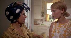 Ruth Gordon & Mia Farrow in Rosemary's Baby