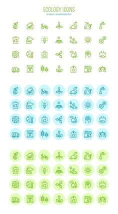 Free download: Vector Ecology icons photo