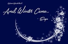 """Winter Wonderland : """"And Winter Came…"""" by Enya. read more: http://xgosiax.blogspot.com/2015/12/winter-wonderland-and-winter-came-by.html  #AndWinterCame #Enya #christmas #winter #music #album #music"""