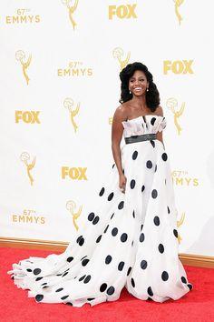Premios Emmy 2015 - Teyonah Parris por Francesca Miranda.