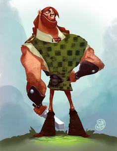 Highlander by Brett2DBean on deviantART