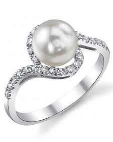 Pretty Akoya Pearl Ring (from lagunapearl.com)