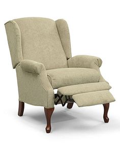 Andy Recliner Chair, Queen Anne Style - furniture - Macy's