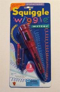 Squiggle Wiggle pen... Me la regalaron cuando sali del kinder hehehehe :p