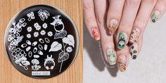 aiyoohehe[hēhē™]Nail Art Stamping Plates Designed by Haiyan.Round Poli