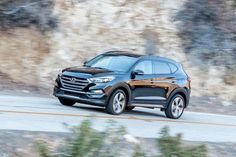 2016 Hyundai Tucson 2016 Hyundai Tucson Eco AWD, starts at $25,550 and upgrades to a peppy turbocharged 1.6-liter engine that gets 27 mpg combined (25 city/31 highway