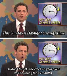 SNL Weekend Update - Daylight Savings Time