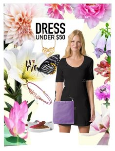 """""""Dress Under $50"""" by sandyspider ❤ liked on Polyvore featuring American Apparel, Zipz, zazzle, SandyspiderGifts and Dressunder50"""