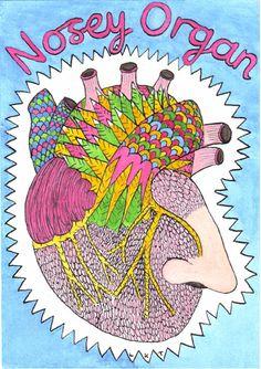 #Picaweek7 Nosey Organ